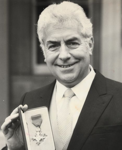 Ron Pickering, an inspirational figure at Haringey AC as both a coach and President of the club