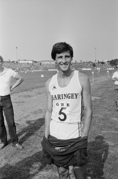 Sebastian Coe ran on only a few occasions for Haringey but remains an important part of the club's history