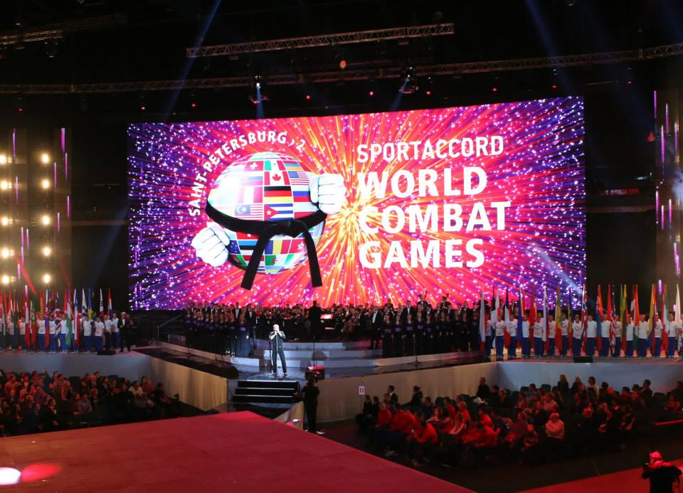 The SportAccord World Combat Games has opened in St Petersburg