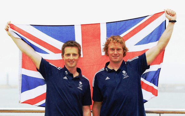 Steve Morrision (left) and Ben Rhodes have called time on their 12-year partnership on the water