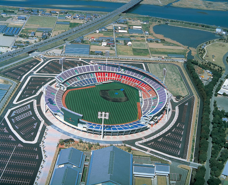 Miyazaki's Sun Marine Stadium will be the centrepiece of the 2014 Women's Baseball World Cup