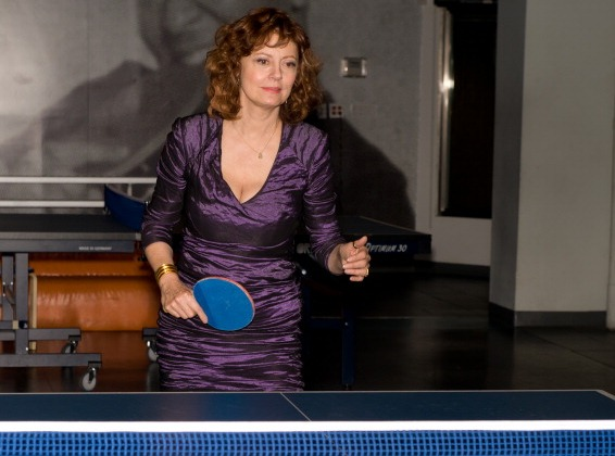 Susan Sarandon will perform the draw for the 2013 ITTF World Tour Grand Finals
