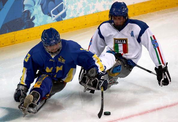 Sweden's Niklas Ingvarsson (left) and Italy's Florian Planker have been instrumental in helping their sides to a two from two start at the IPC Sochi 2014 qualifying tournament