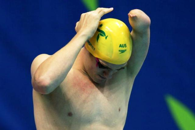Swimmer Matt Cowdrey is Australia's most successful Paralympan ever with 13 gold medals at three Games