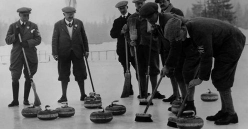 Britain last won a medal in men's curling at the very first Winter Olympics, at Chamonix in 1924, when they won gold