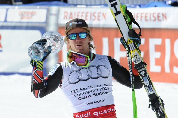 Ted Ligety has been awarded the USOC sportsman of the year title after claiming three golds at the 2013 Alpine Skiing World Championships