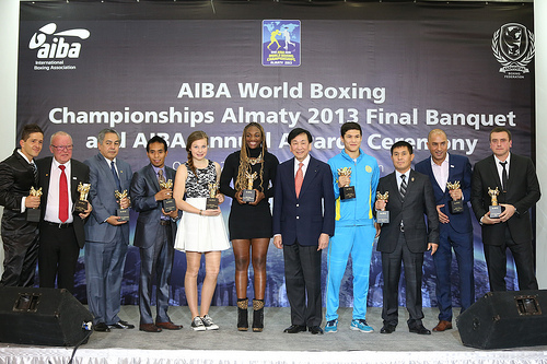 The AIBA Awards Ceremony took place in Astana Kazakhstan this evening