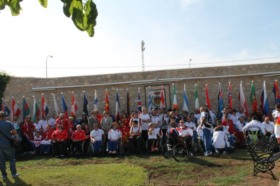 The IPC Shooting European Championships got underway in Alicante today with the opening ceremony