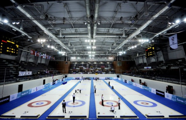 The Ice Cube Centre in Sochi will host the wheelchair curling competition at next year's Winter Paralympics