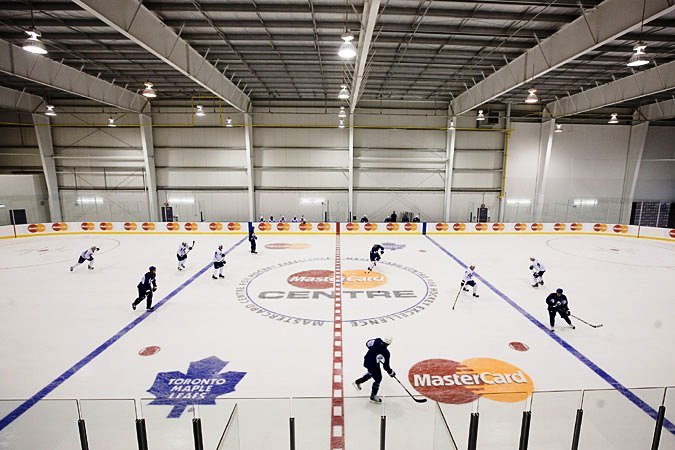 The MasterCard Centre in Toronto will host this year's World Sledge Hockey Challenge