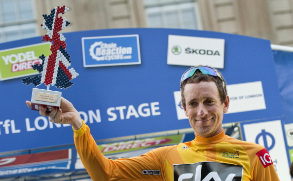 The plaque honouring Sir Bradley Wiggins follows the cyclists victory in last months Tour of Britain