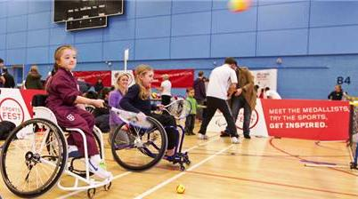 The third ParalympicsGB Sports Fest will take place in Worcester in November
