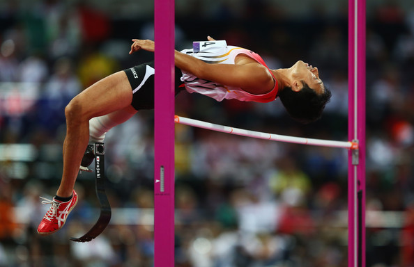 Tokyo hosting the 2020 Paralympics should help improve training facilities for athletes like Toru Suzuki, seen here competing in the F46 high jump at London 2012