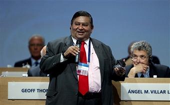 Vernon Manilal Fernando has been given a life ban by FIFA