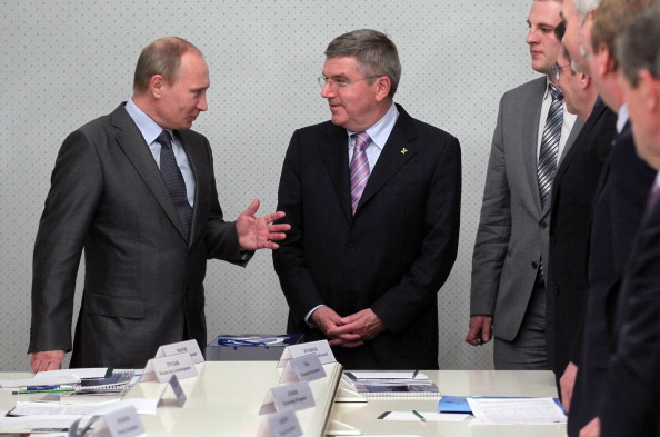 Russian President Vladimir Putin has assured new International Olympic Committee President Thomas Bach that there will be no discrimination against anyone at Sochi 2014