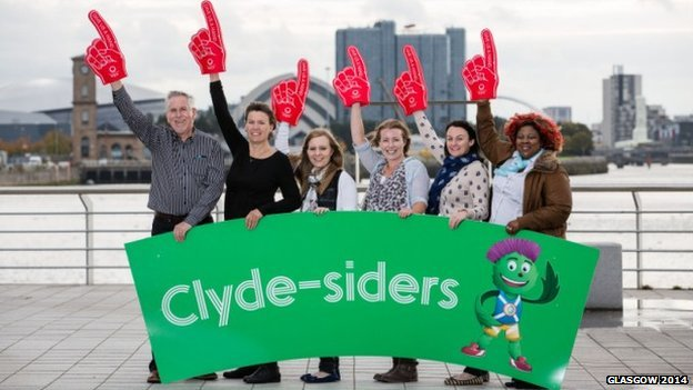 Volunteers at Glasgow 2014 to be known as Clyde-siders