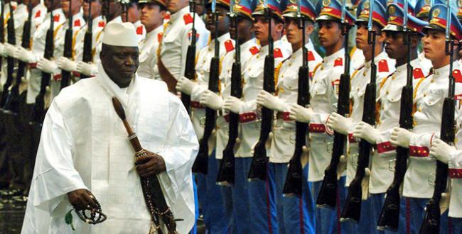 Yahya Jammeh has long been one of Africa's most contraversial rulers and appears to have been the instigator of Gambia's decision to withdraw from the Commonwealth
