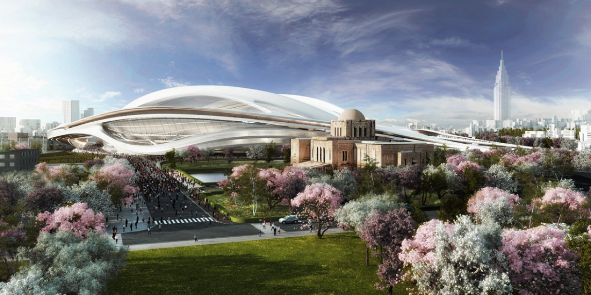 Zaha Hadid's elaborate plans for the redevelopment of the National Stadium, proposed centrepiece of the 2020 Tokyo Olympics and Paralympics, may need to be scaled back because of the cost