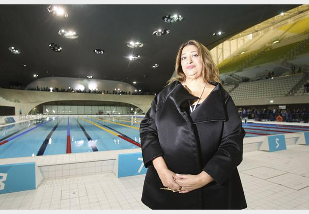 The Aquatics Centre for London 2012, designed by Zaha Hadid, ended up costing more than three times the original estimate of £75 million