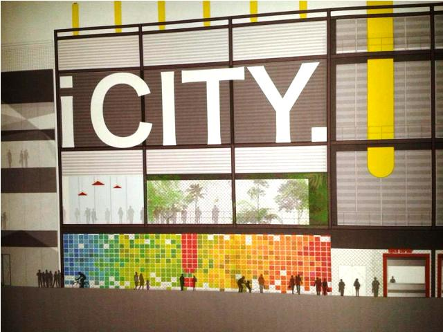 iCITY's ambitious plans aim to turn the former centre of the sporting world into the centre of the digital and creative world