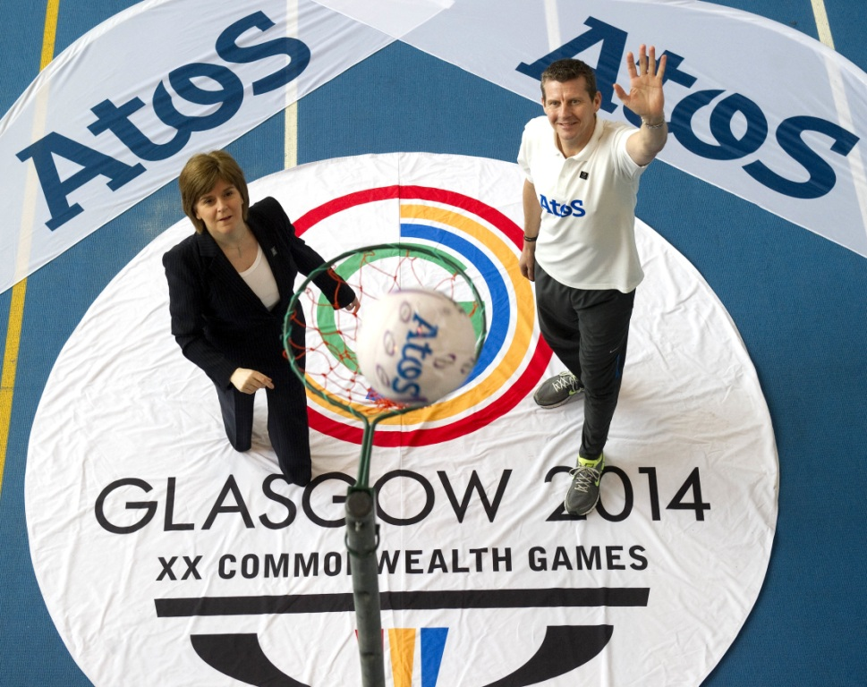 Former world mile record holder Steve Cram helped launch Atos' controversial sponsorship of Glasgow 2014 last year
