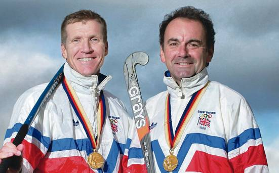 Seoul gold medallists Jimmy Kirkwood and Stephen Martin are looking forward to the silver anniversary reunion dinner