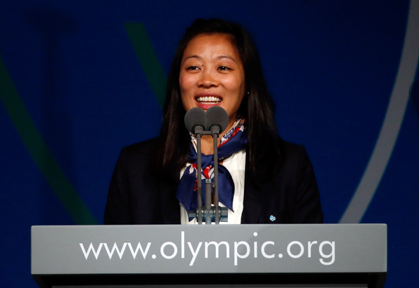 Canada's Carol Huynh was part of the FILA presentation to the IOC Session in Buenos Aires last month