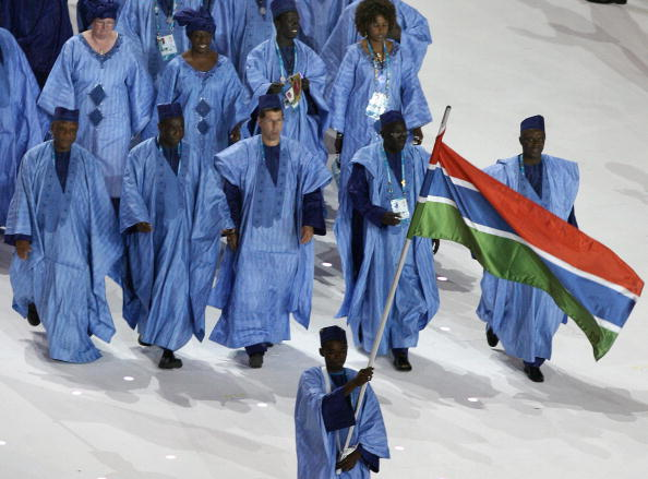 Gambia, seen here at the Opening Ceremony at Melbourne 2006, have taken part in every Commonwealth Games since Edinburgh 1970, except for 1986 when they joined the African-led boycott