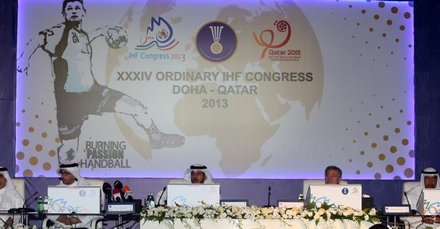 Several new countries were elected as members of the International Handball Federation