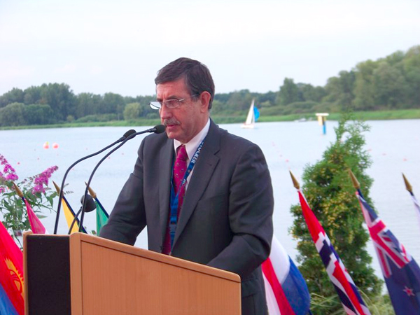 International Canoe Federation President José Perurena López had led opposition to plans by Rio 2016 to move the canoe slalom course