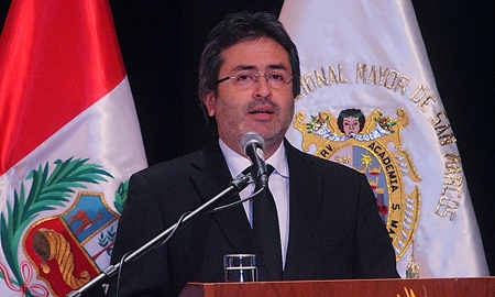 Peruvian Prime Minister Juan Jiménez Mayor is leading Lima's delegation to try to win the 2019 Pan American and Parapan Games