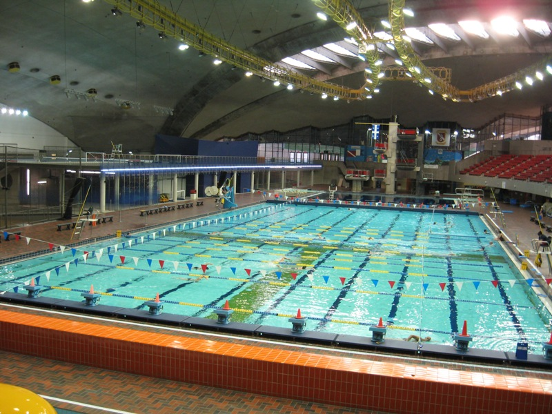 Swimming canada shortlist four cities to host rio 2016 trials - Piscine du stade olympique ...