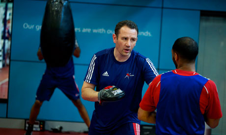One of Steve Esom's main tasks will be to ensure that British Boxing's head Rob McCracken is able to concentrate on preparing for Rio 2016