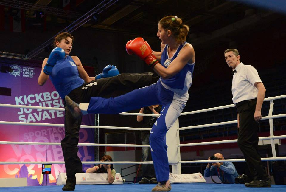 Savate is among two new sports at this year's SportAccord World Combat Games in St Petersburg