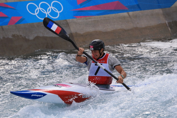 Émilie Fer of France won the only women's kayak slalom event at London 2012 ©Getty Images