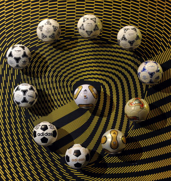 The deal ensures that Adidas will continue to supply the official match ball for the FIFA World Cup ©Getty Images