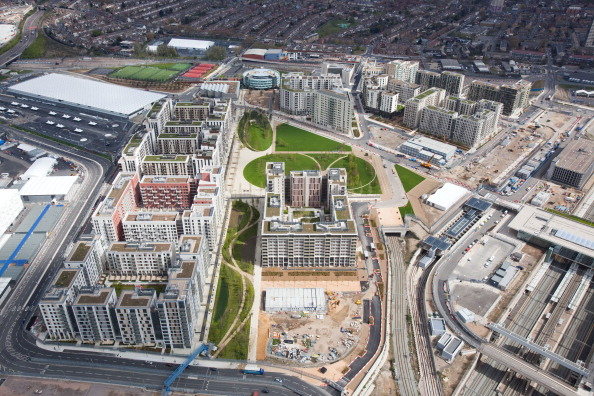 Redevelopment of the Olympic Park has been taking place since the end of the Olympic Games with two residential areas now ready for families to move into ©Getty Images