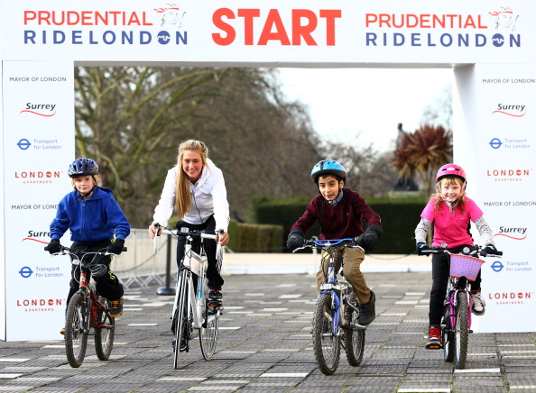 The inaugural Prudential RideLondon event has raised more than £7 million for charity ©Getty Images