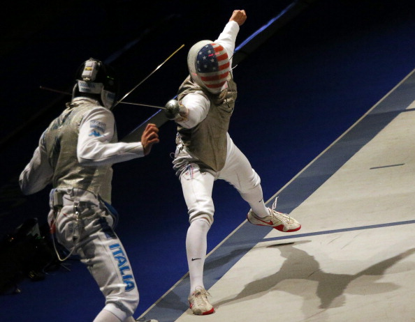 The American Fencing team came second behind Italy in the team foil event of this year's World Championships in Hungary ©Getty Images