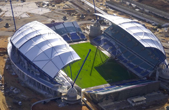 Gibraltar will play their home games in Portugal's 30,000 capacity Estadio Algarve