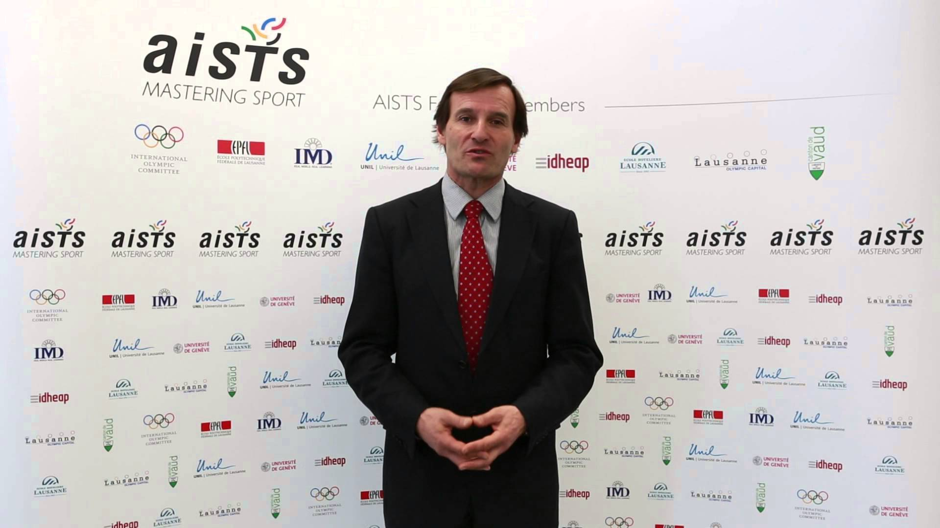 AISTS directer Claude Stricker is looking to improve standards of sports administration © AISTS