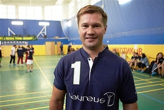 Alexey Nemov is hoping that the Laureus Sport for Good Foundation will increase sporting opportunities across Russia