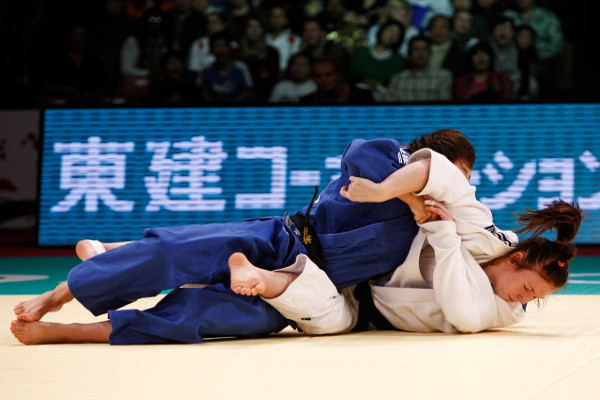 Chizuru Arai beat both World Championships finalists to win one of four Japanese titles at 70kg ©IJF Media