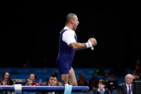 Britain's Ali Jawad made up for his London 2012 disappointment with Asian gold and a world record today