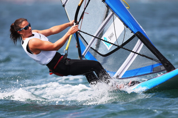 Bryony Shaw has been named as the British Sailing Team's Athlete of the Year ©Getty Images