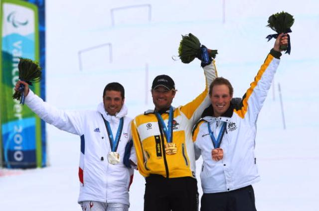 Cameron Rahles Rahbula (right) was one of Australia's top performers at Vancouver 2010 claiming two bronze medals © Getty Images