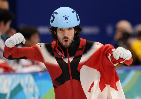 Charles Hamelin could become Canada's most decorated Olympian ever in Sochi © AFP / Getty Images
