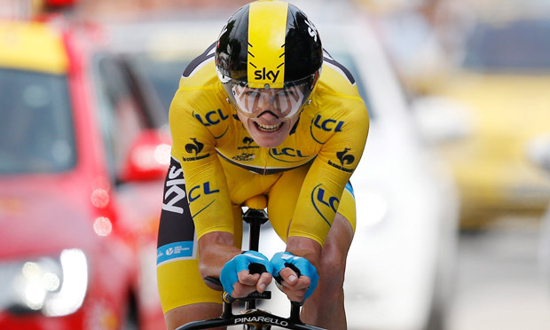 The success of British riders like Tour de France winner Chris Froome is persuading people to go and invest in bikes
