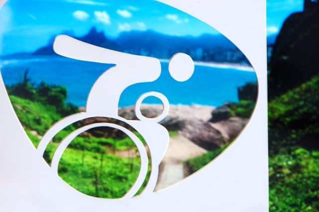 Designers claim that the Paralympic pictograms integrate athlete impairment with sport in a balanced way