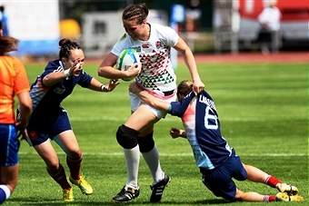 England and France will be two of the teams in action as the IRB Womens Rugby Sevens Series gets underway in Dubai later this month